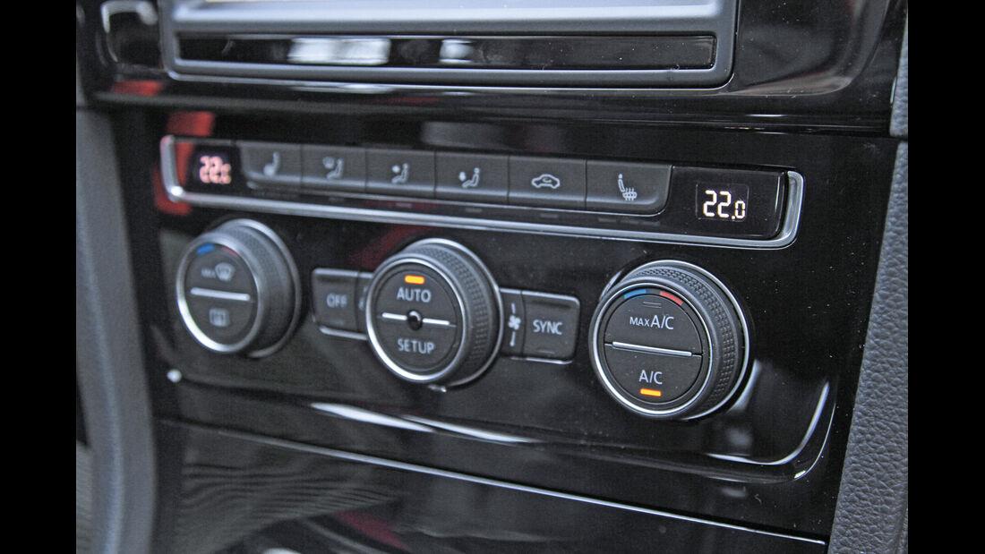 VW Golf 1.4 TSI, Heizung