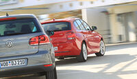 VW Golf 1.4 TSI Highline, BMW 118i Sport Line, Heck