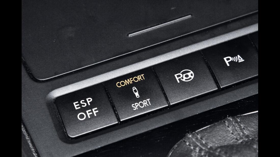 VW Golf 1.4 TSI Highline, ESP Tasten