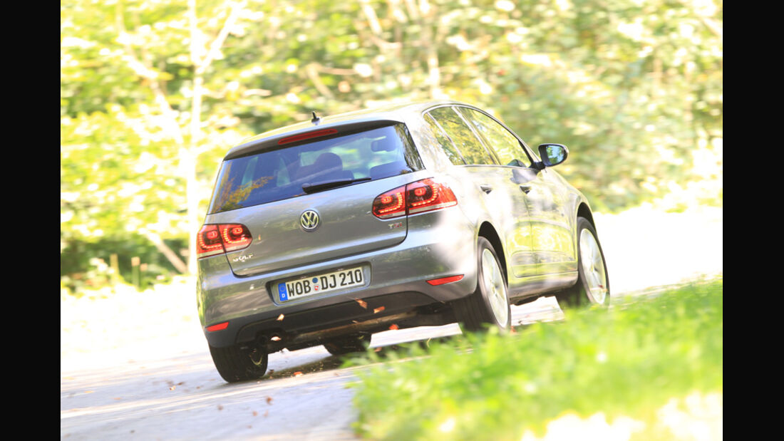 VW Golf 1.4 TSI Highline, Heck