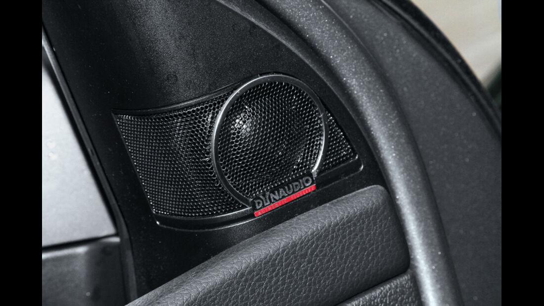 VW Golf 1.4 TSI Highline, Lautsprecher