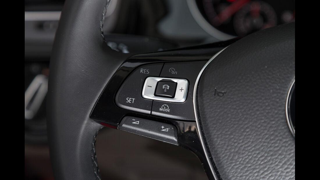 VW Golf 1.4 TSI, Lenkrad