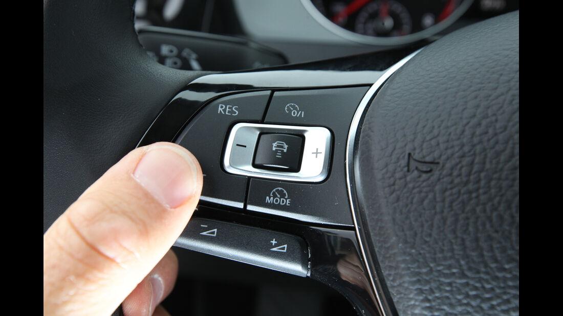 VW Golf 1.4 TSI, Lenkradschalter