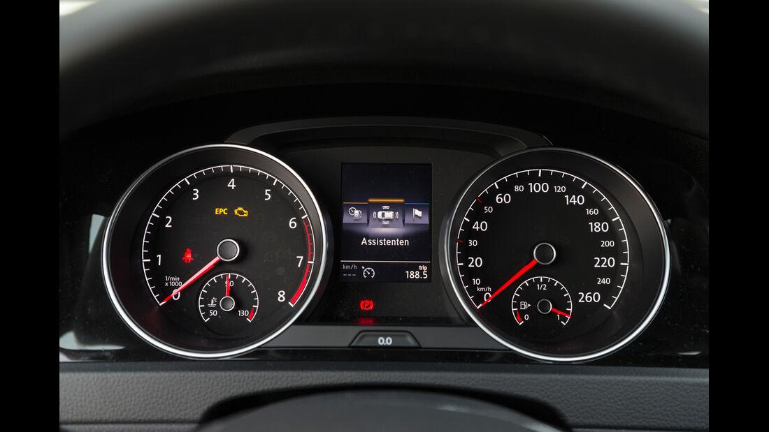 VW Golf 1.4 TSI, Rundinstrumente
