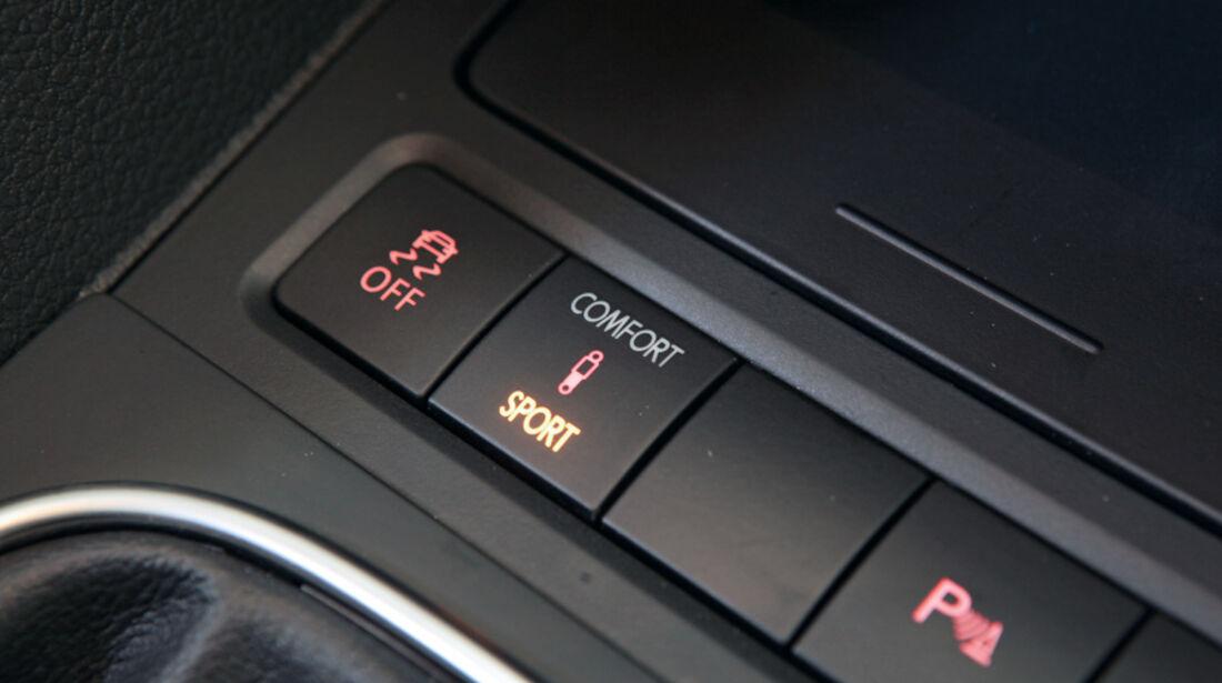 VW Golf 1.4 TSI, Schalter, Detail