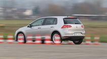 VW Golf 1.4 TSI, Seitenansicht, Bremstest