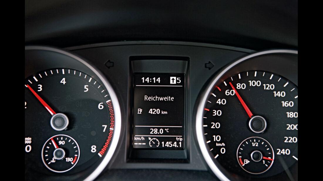 VW Golf 1.4 TSI, Tacho, Anzeigeinstrumente