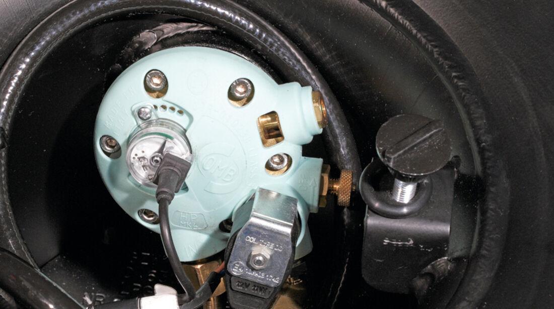 VW Golf 1.4, Zusatztank