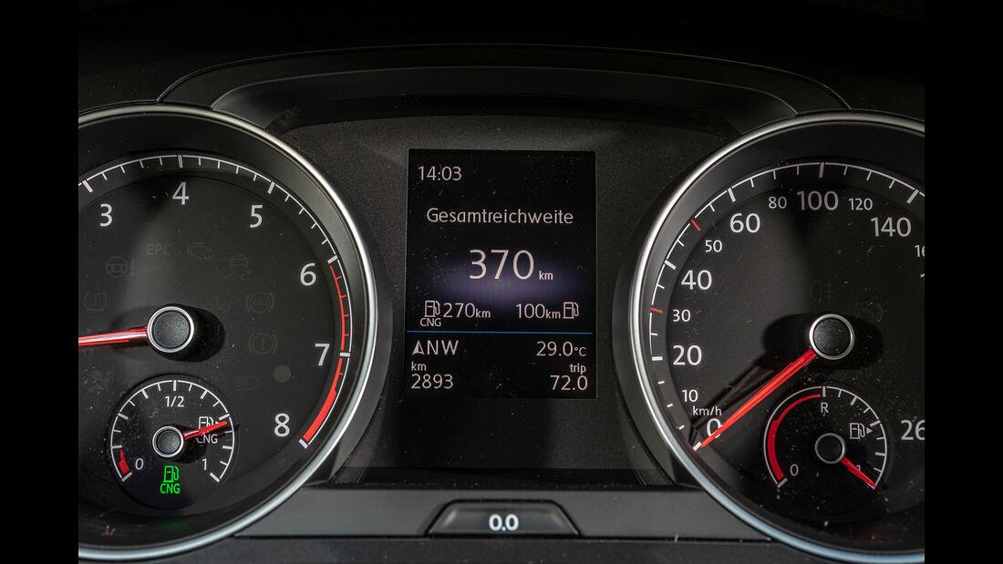 VW Golf 1.5 TGI BlueMotion, Anzeigen