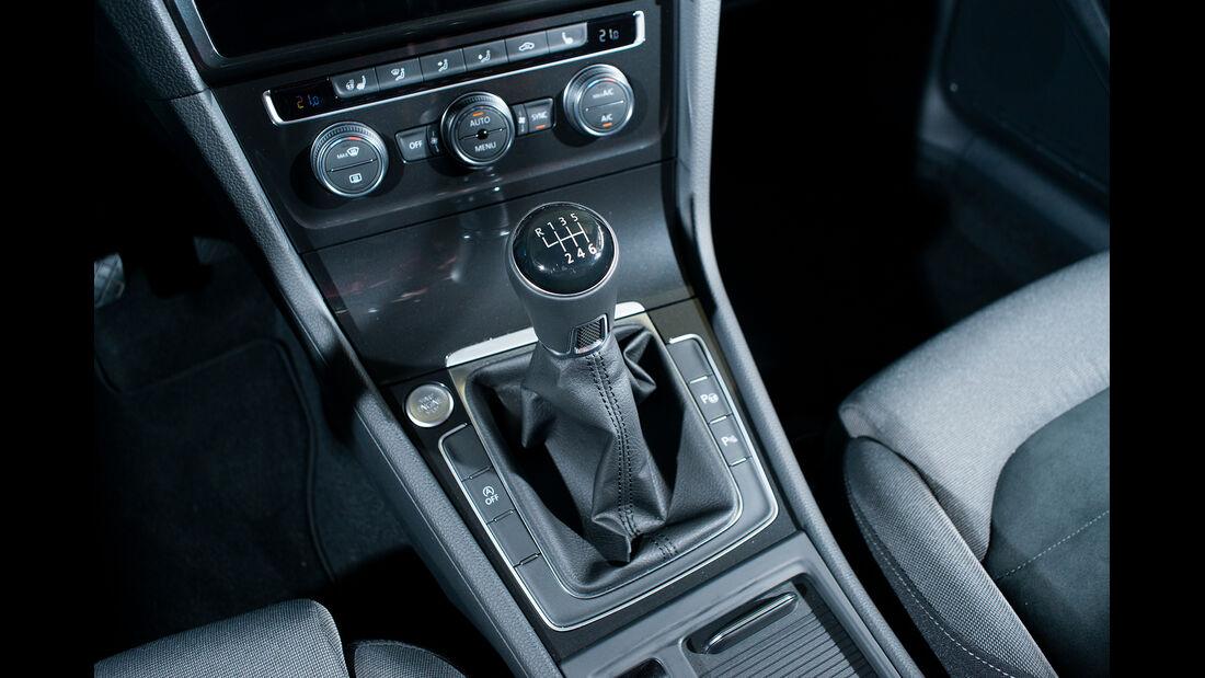 VW Golf 1.5 TGI BlueMotion, Ganghebel
