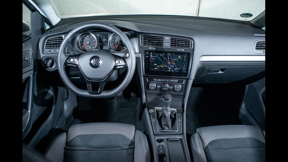 VW Golf 1.5 TGI BlueMotion, Interieur