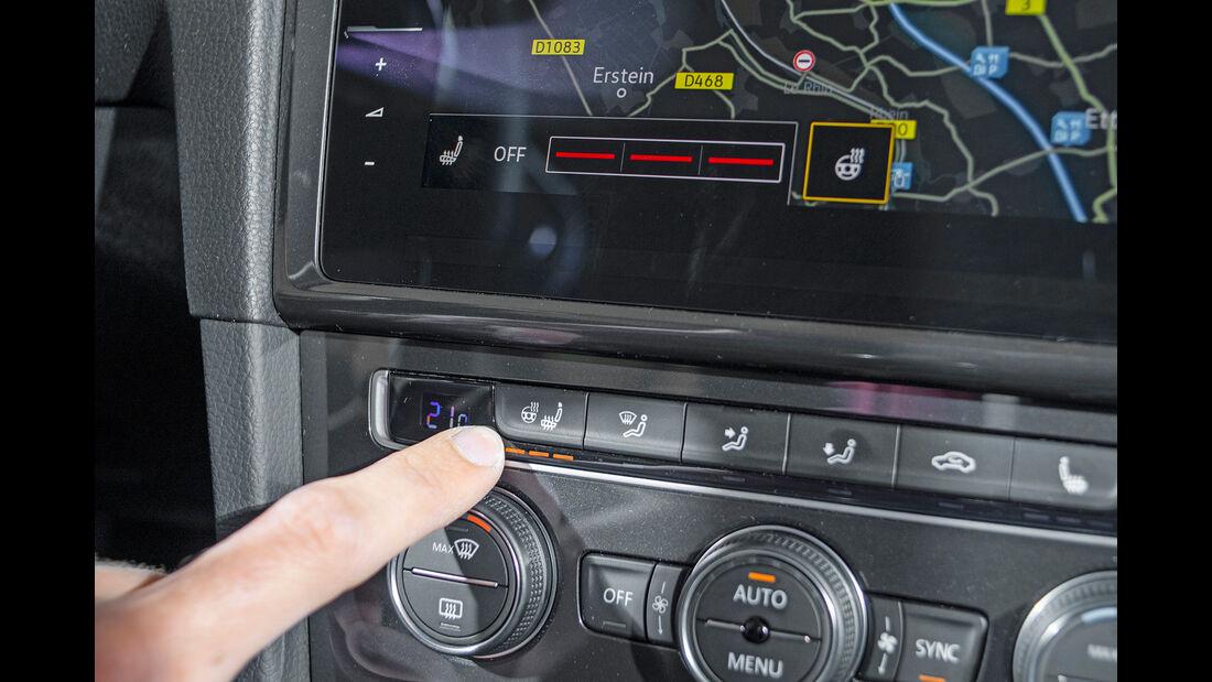 VW Golf 1.5 TGI BlueMotion, Klimaanlage