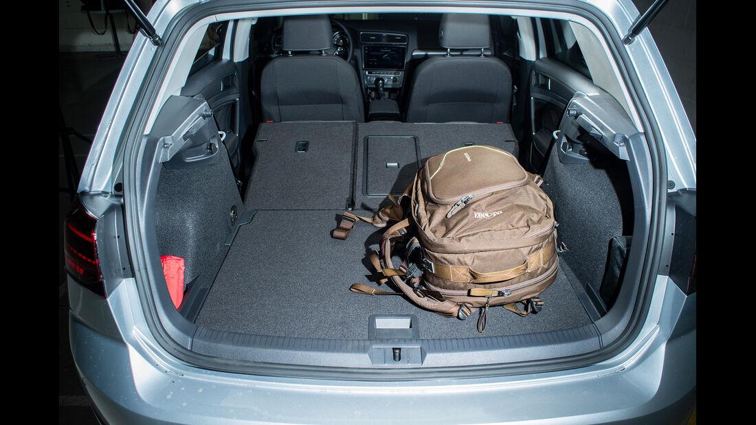 VW Golf 1.5 TGI BlueMotion, Kofferraum