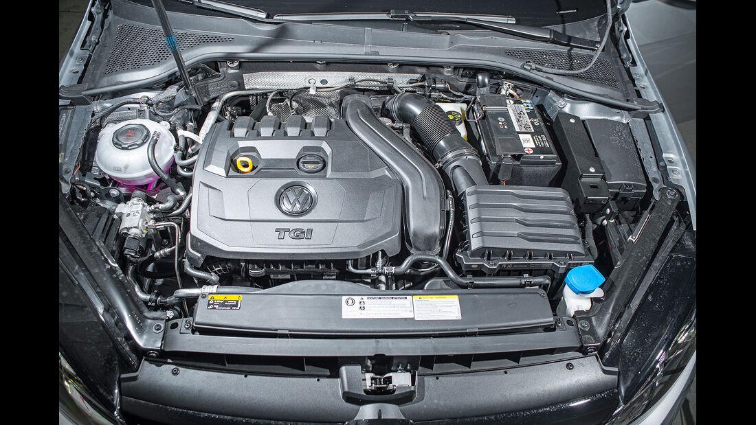 VW Golf 1.5 TGI BlueMotion, Motorraum