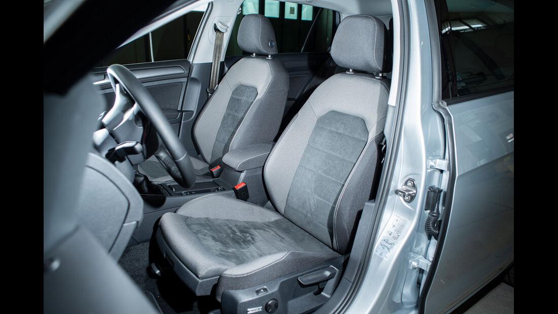 VW Golf 1.5 TGI BlueMotion, Sitz