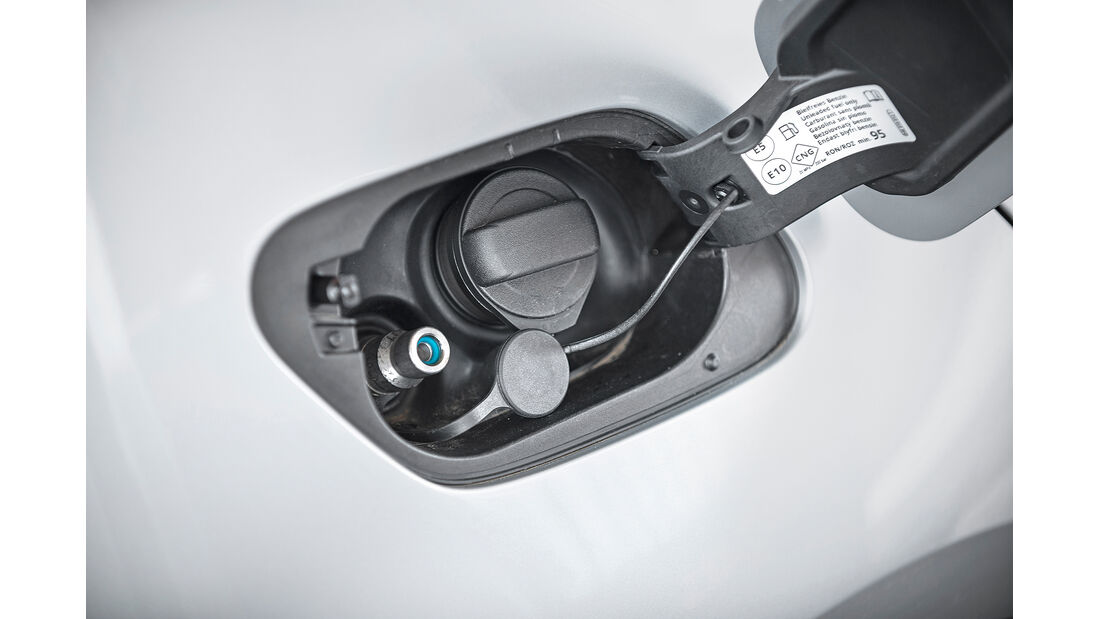 VW Golf 1.5 TGI BlueMotion, Tank