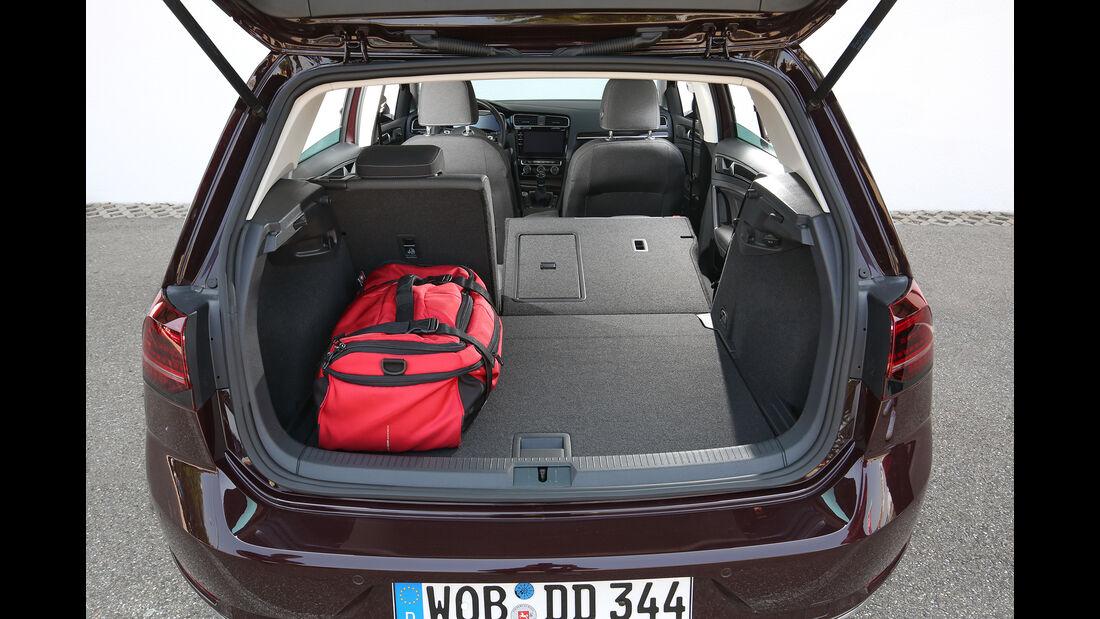 VW Golf 1.5 TSI Act, Kofferraum