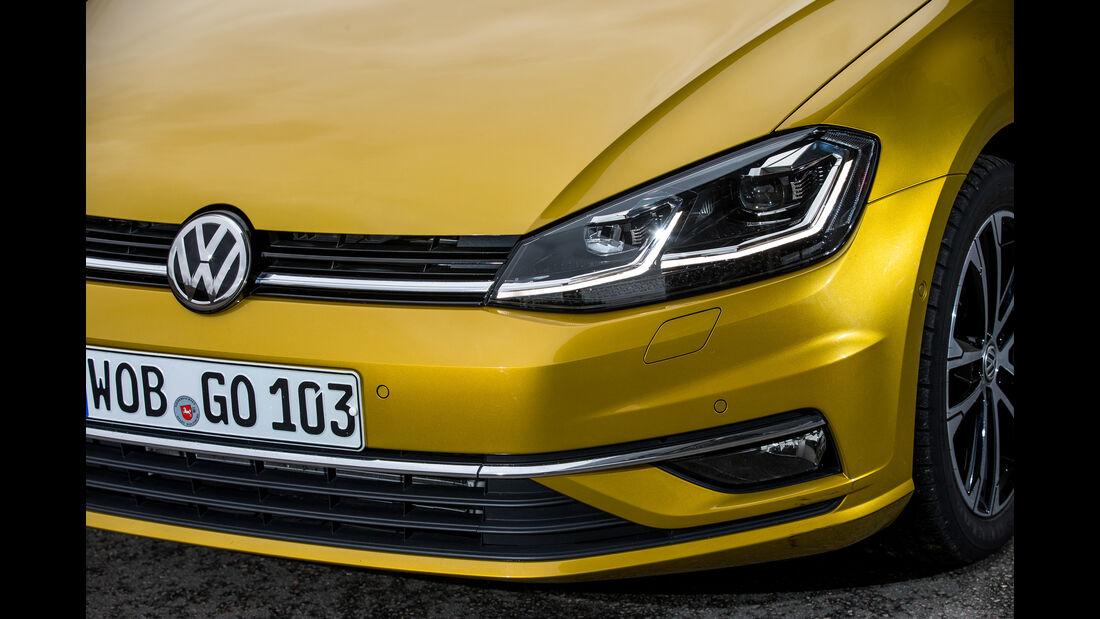 VW Golf 1.5 TSI, Frontscheinwerfer