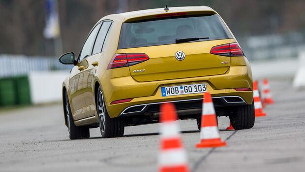 VW Golf 1.5 TSI, Heckansicht