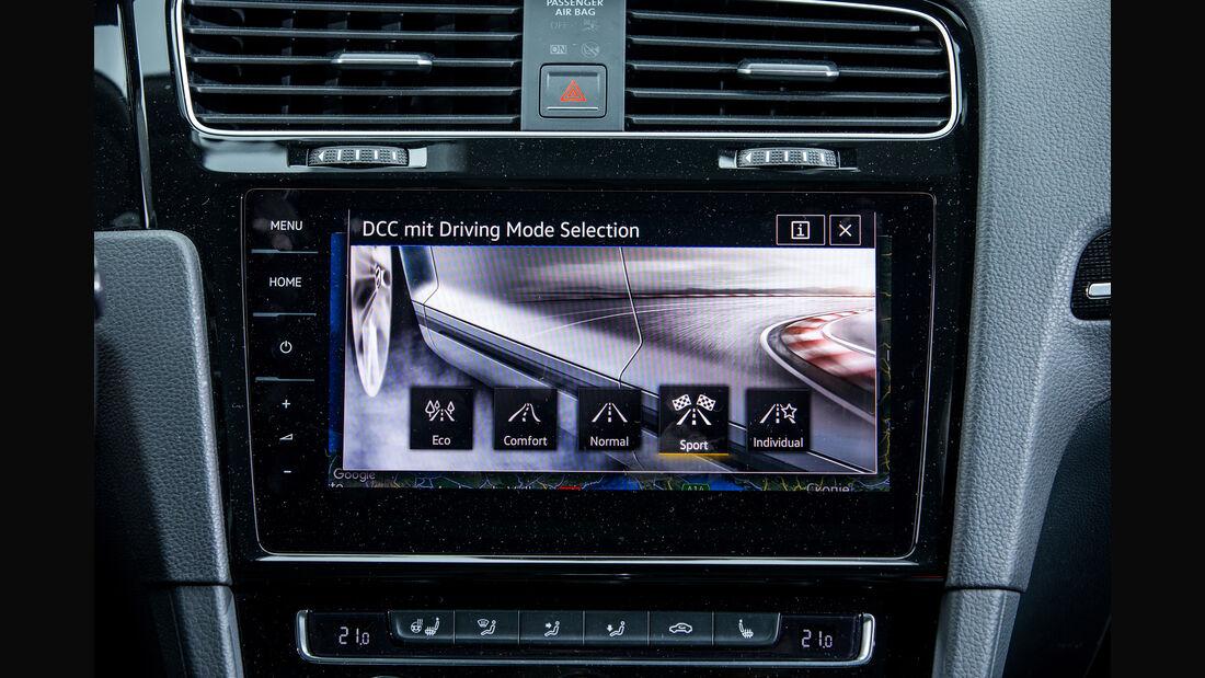 VW Golf 1.5 TSI, Infotainment
