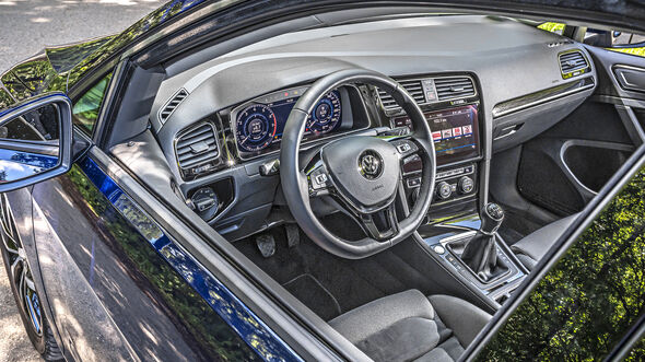 VW Golf 1.5 TSI, Interieur