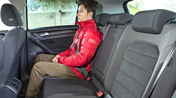 VW Golf 1.5 TSI, Interieur