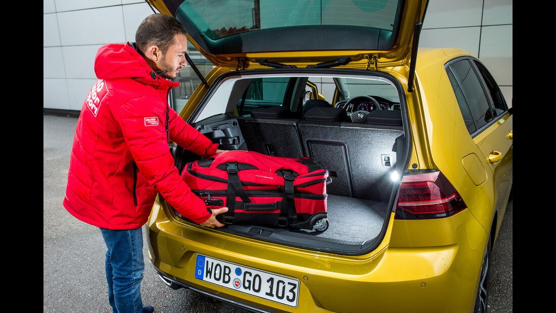 VW Golf 1.5 TSI, Kofferraum
