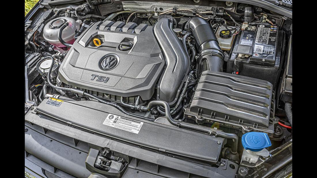VW Golf 1.5 TSI, Motorraum