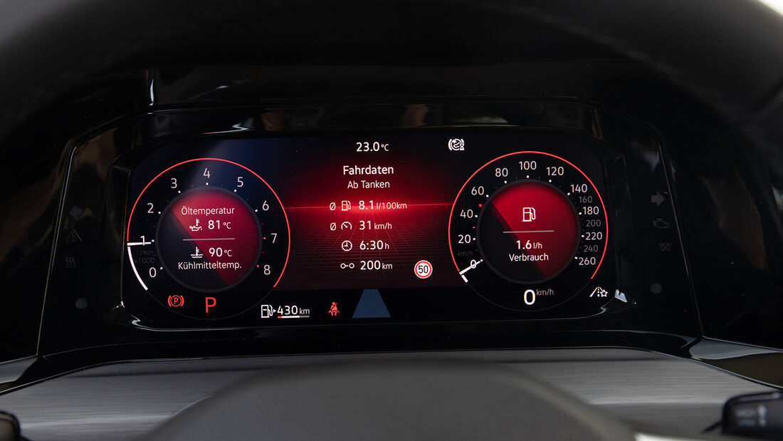 VW Golf 1.5 eTSI DSG, Interieur