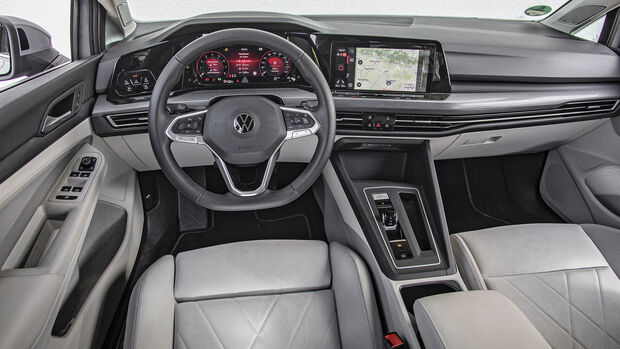 VW Golf 1.5 eTSI DSG, Interieur