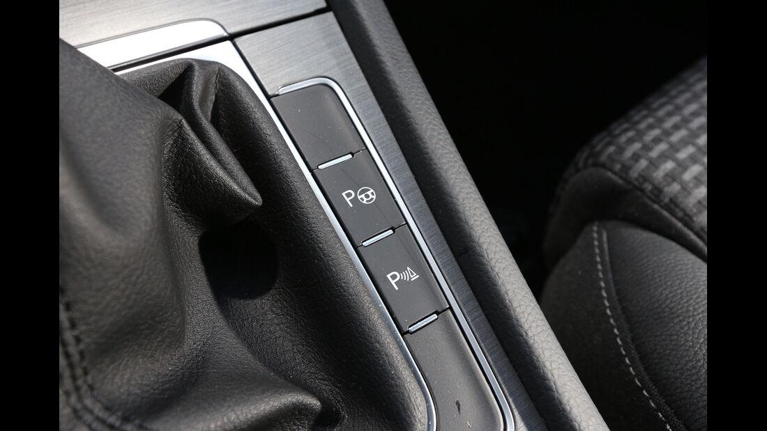 VW Golf 1.6 Blue TDI, Bedienelemente