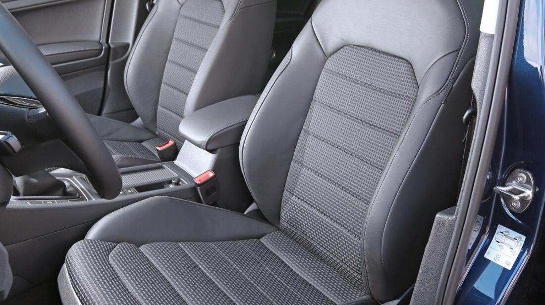 VW Golf 1.6 Blue TDI, Fahrersitz