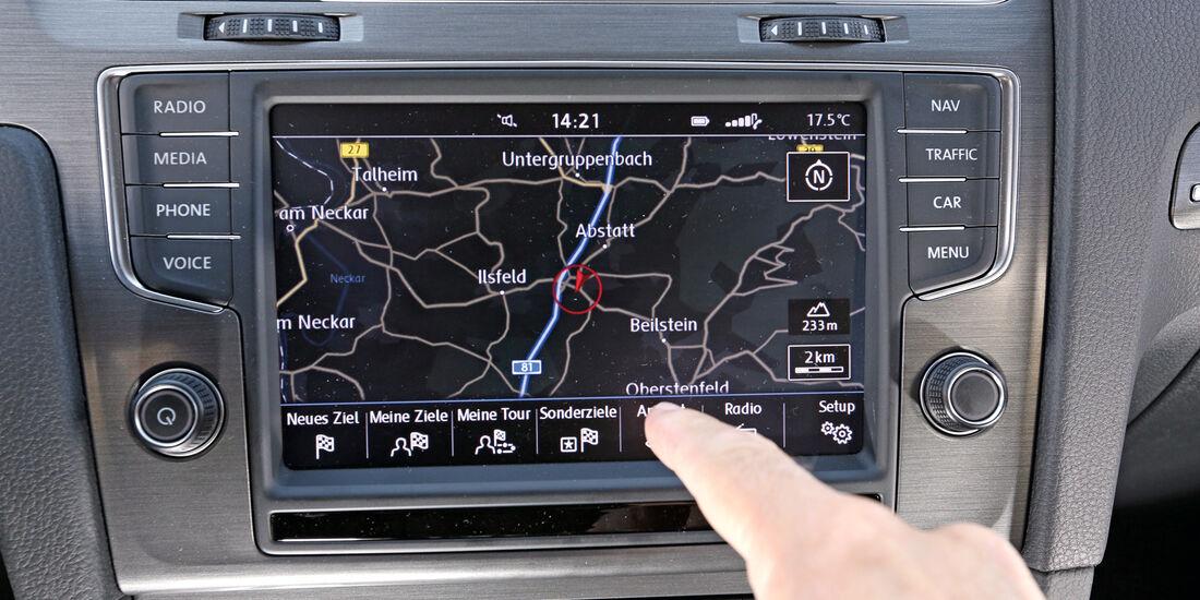 VW Golf 1.6 Blue TDI, Navi, Touchscreen