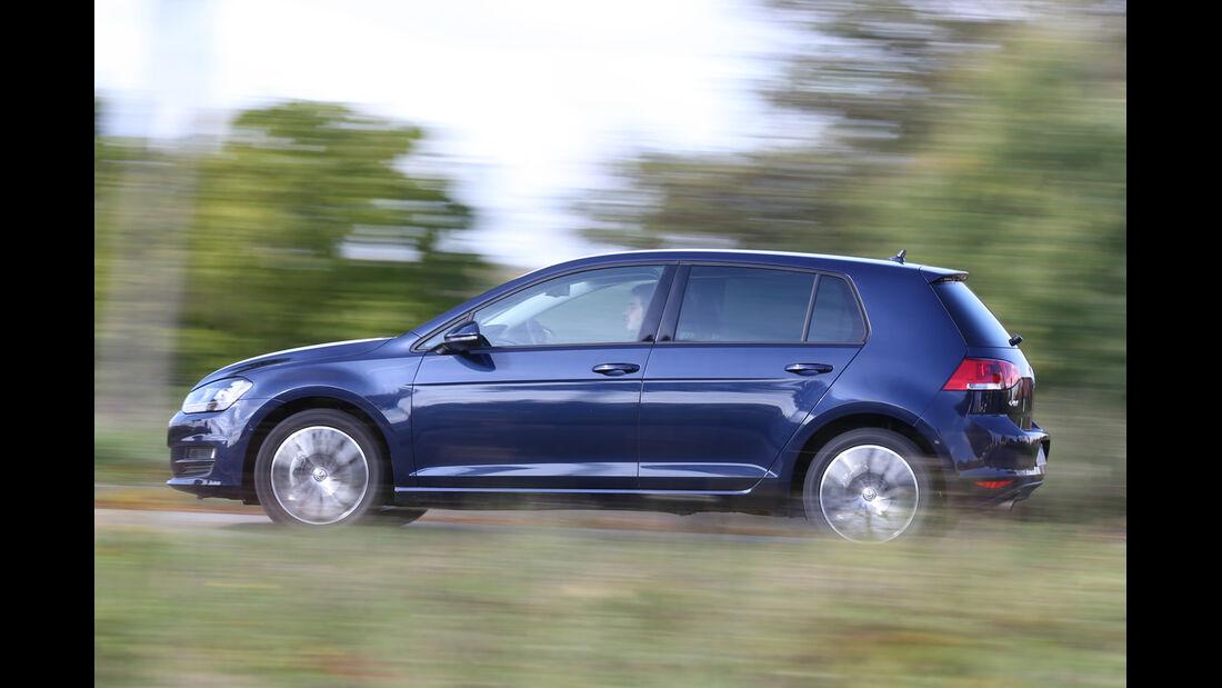 VW Golf 1.6 Blue TDI, Seitenansicht