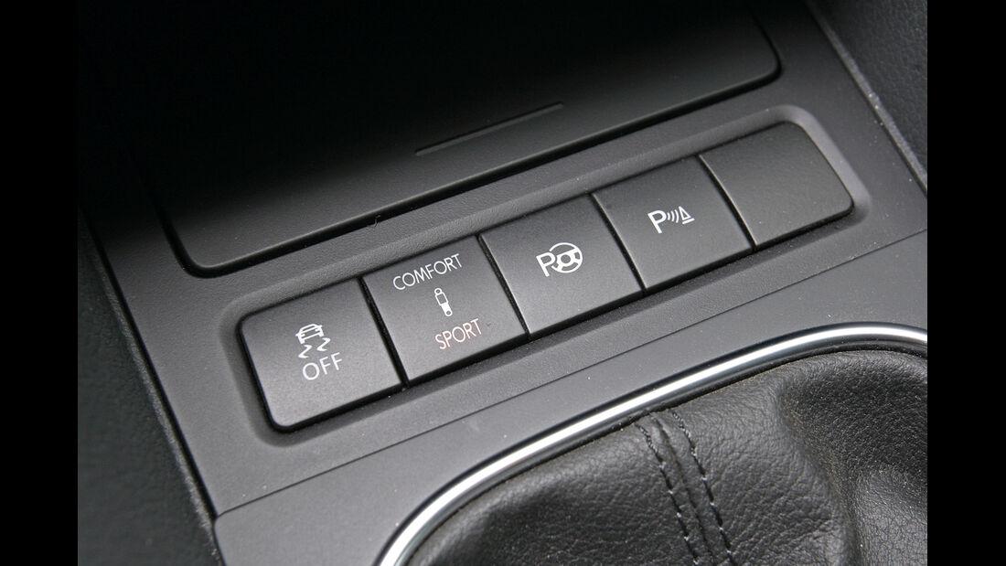 VW Golf 1.6 TDI, Bedienelemente