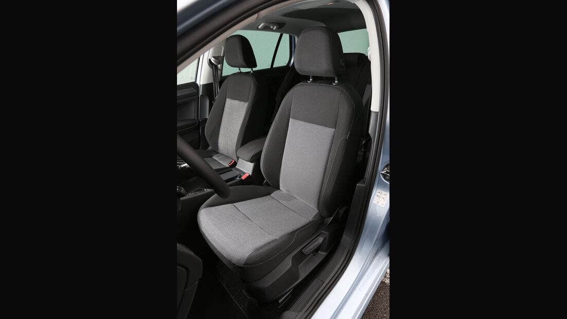VW Golf 1.6 TDI BlueMotion, Fahrersitz