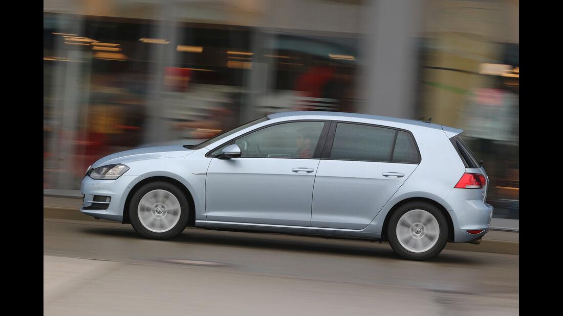 VW Golf 1.6 TDI BlueMotion, Seitenansicht