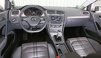 VW Golf 1.6 TDI, Cockpit, Lenkrad