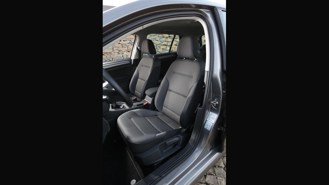 VW Golf 1.6 TDI, Fahrersitz