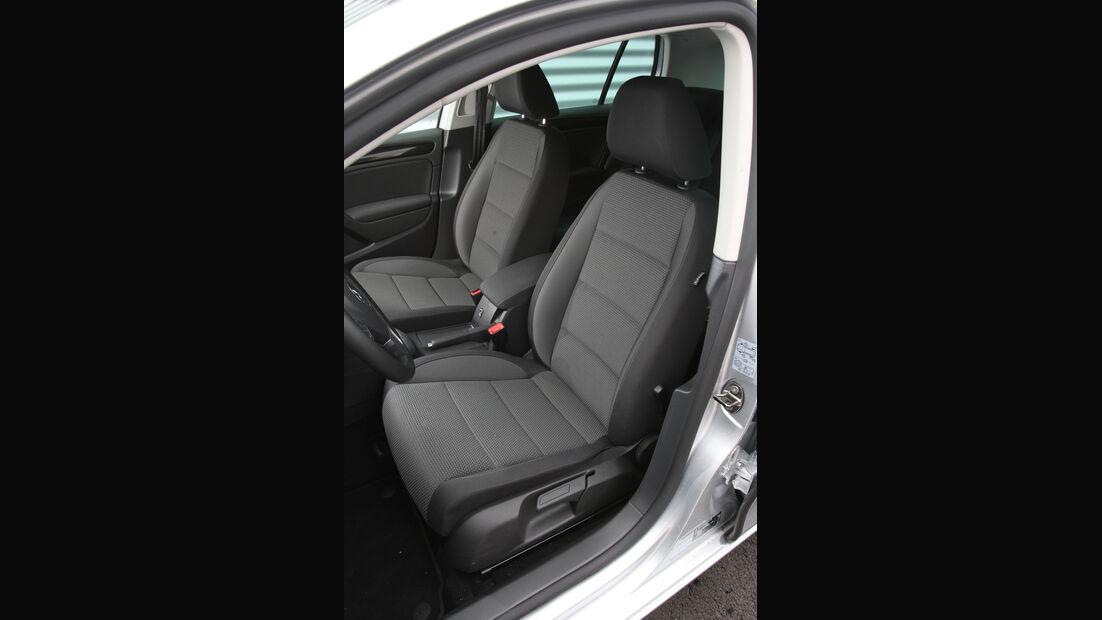 VW Golf 1.6 TDI, Fahrersitz, Vordersitz