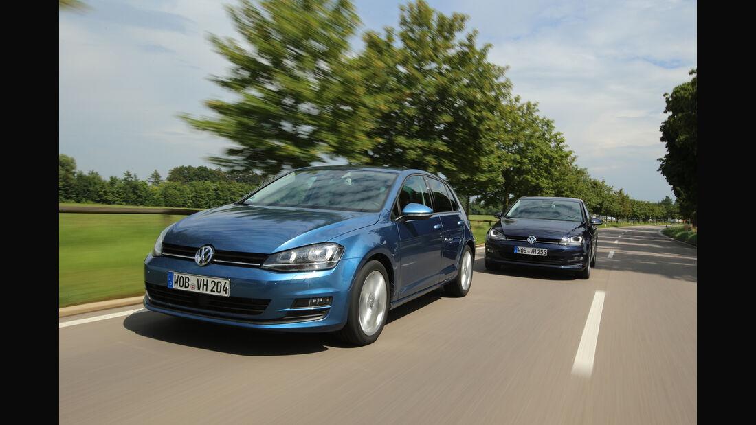 VW Golf 1.6 TDI, Frontansicht