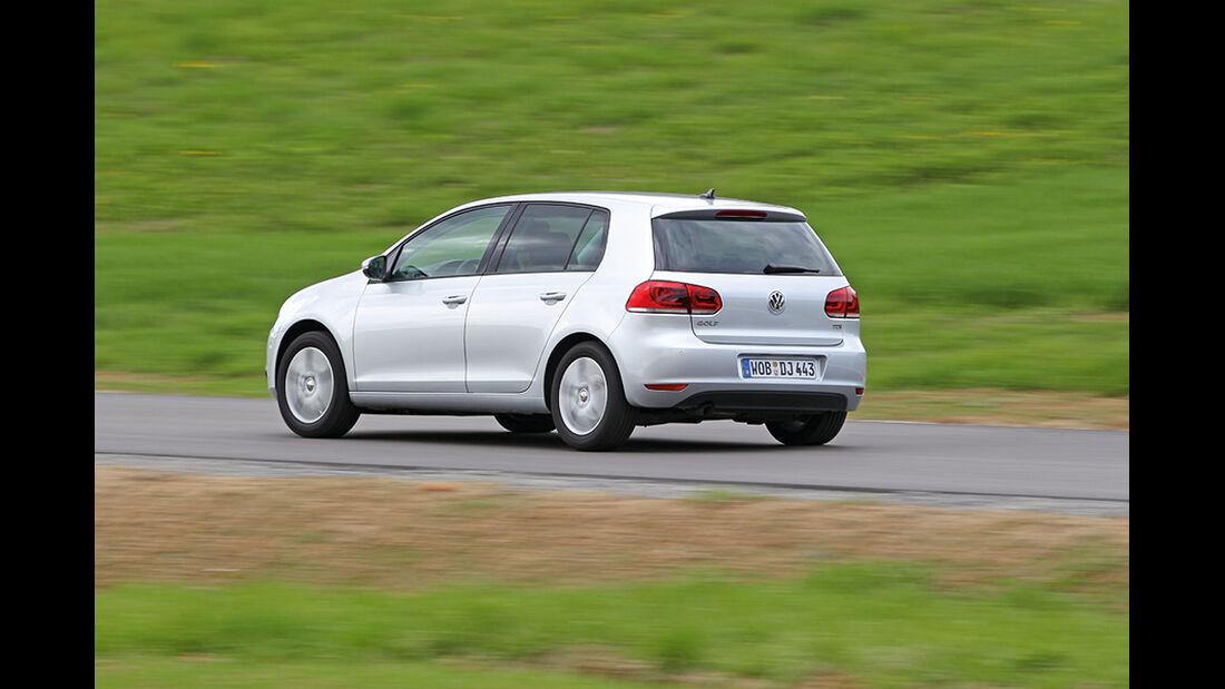 VW Golf 1.6 TDI, Heck