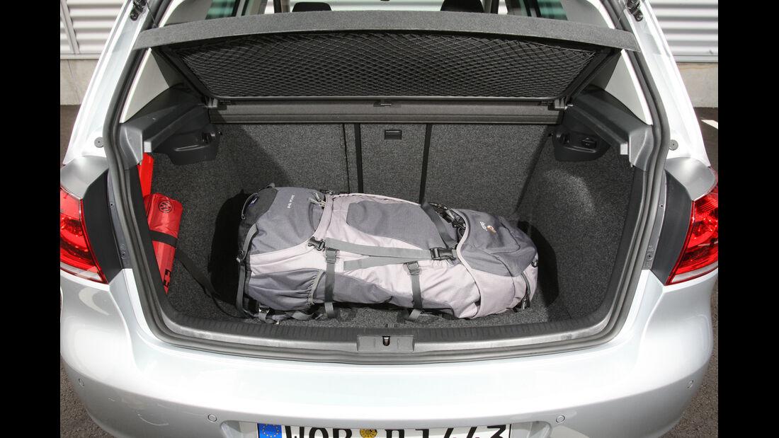 VW Golf 1.6 TDI, Kofferraum
