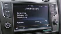 VW Golf 1.6 TDI, Navi, Display
