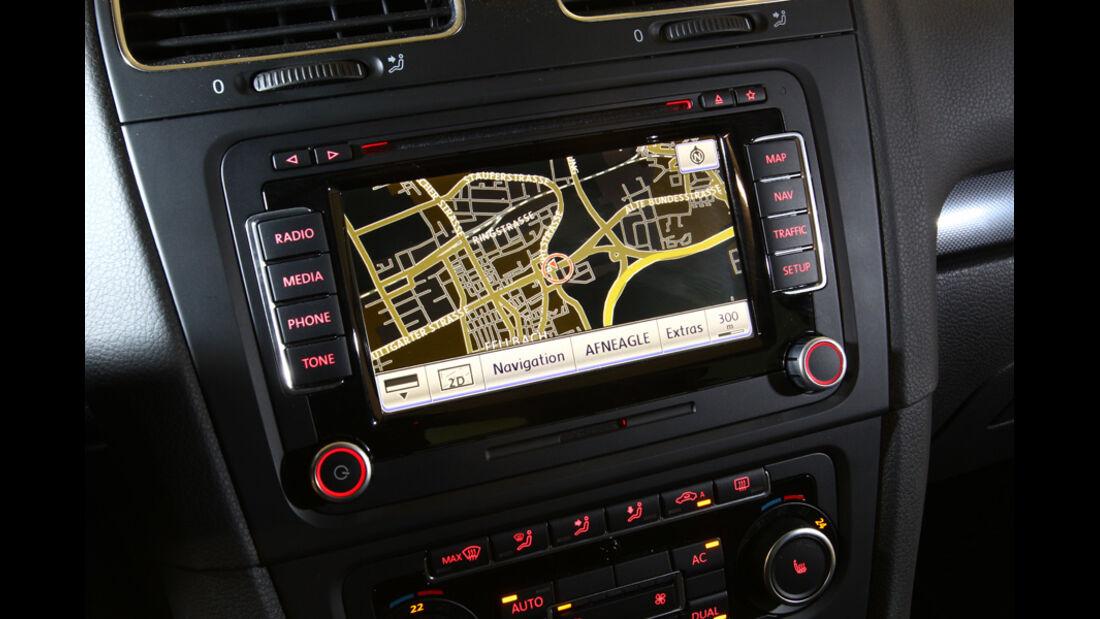 VW Golf 1.6 TDI, Navigationsgerät
