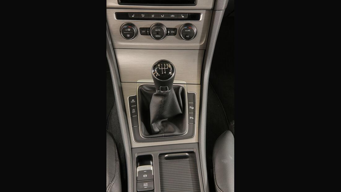 VW Golf 1.6 TDI, Schalthebel