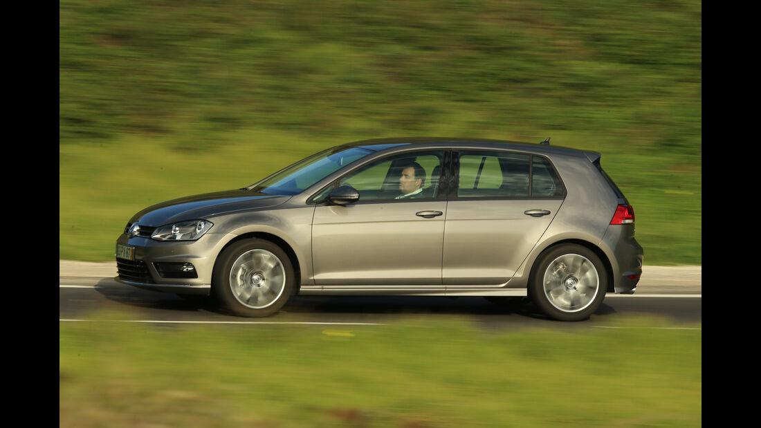 VW Golf 1.6 TDI, Seitenansicht