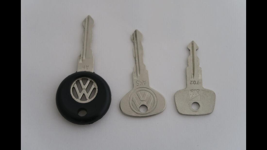 VW Golf 1 Cabrio, Schlüssel, 1992