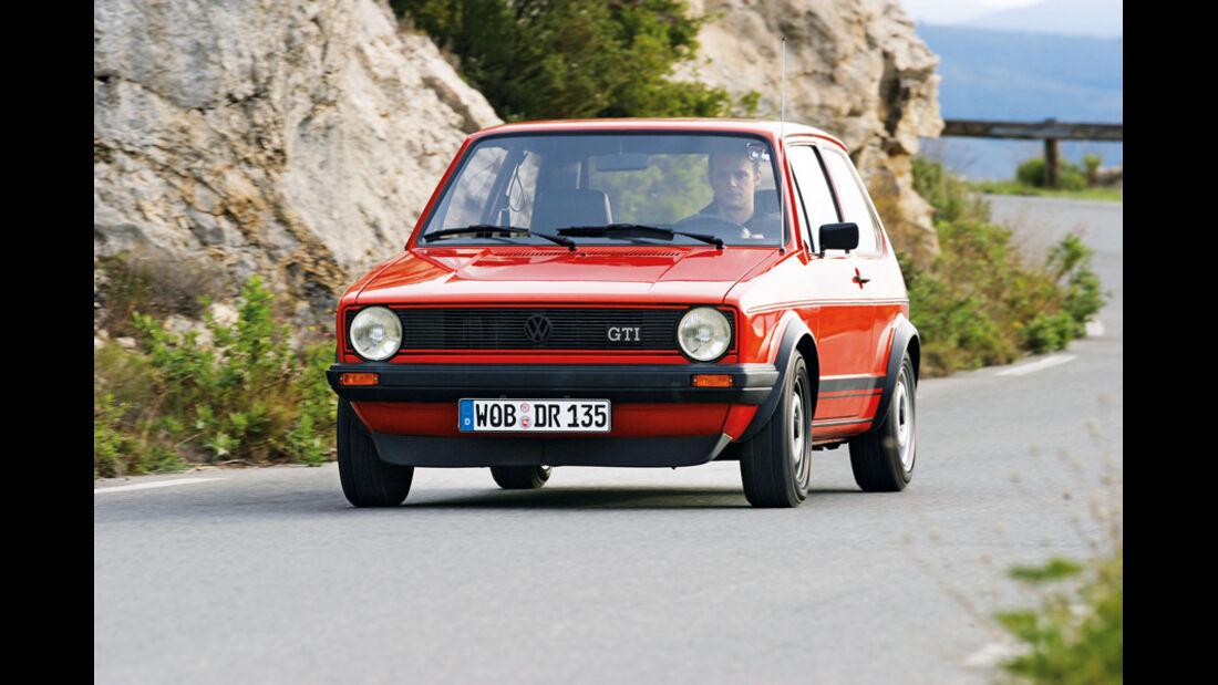 VW Golf 1 GTI, Frontansicht