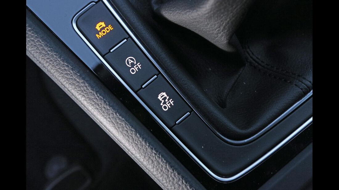 VW Golf 2.0 TDI 4 Motion, Bedienelemente